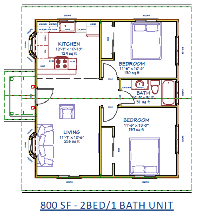 Accessory dwelling unit hawaii for Accessory dwelling unit floor plans